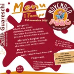 November Porc 2015: menu Caffè Guareschi (7-8 novembre)