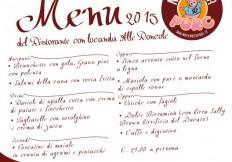 November Porc 2015: menu Ristorante con Locanda Alle Roncole