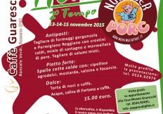 November Porc 2015: menu Caffè Guareschi, 2° Tempo.