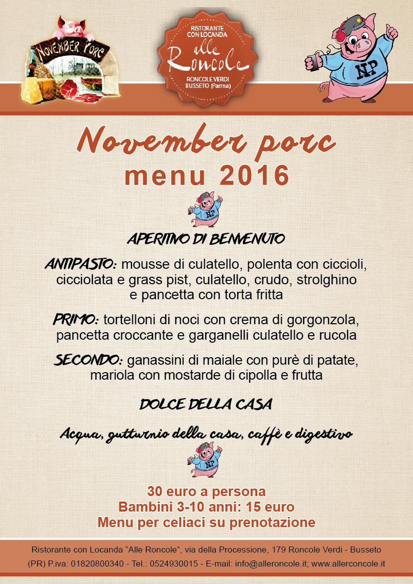 Menu November Porc 2016